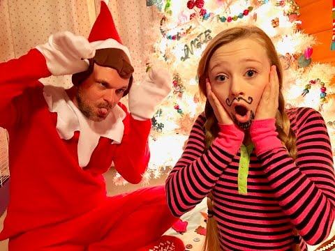 HELP!!! My Elf On The Shelf is Alive and he is destroying my life (new christmas skit)