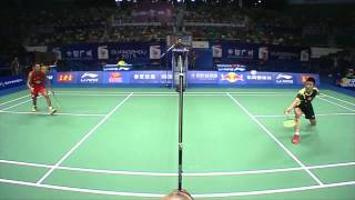 QF - MS - Lin Dan vs Chen Long - 2013 BWF World Championships