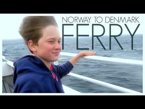 FAST FERRY FROM NORWAY TO DENMARK  |  twoplustwocrew