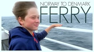 FAST FERRY FROM NORWAY TO DENMARK  |  twoplustwocrew