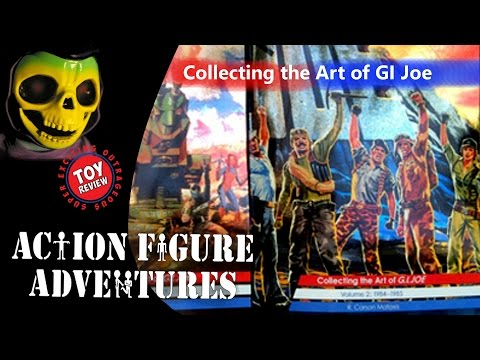 Collecting the Art of G.I.Joe vol 1 & 2 by R. Carson Mataxis  - Action Figure Book Review