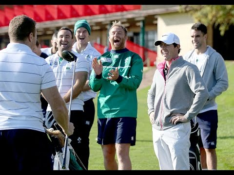 Irish Rugby TV: Golf Lesson With Rory McIlroy