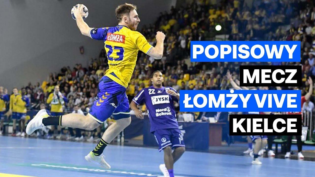 Piłkarze ręczni Łomży Vive Kielce WYGRALI W WIELKIM STYLU z Flensburg-Handewitt