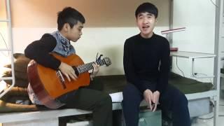 Quên anh em mới có hạnh phúc guitar cover - AT Polla ft VinhCT (nghịch