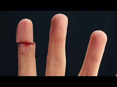 DEDO REBANADO (Sliced Finger) - Makeup FX