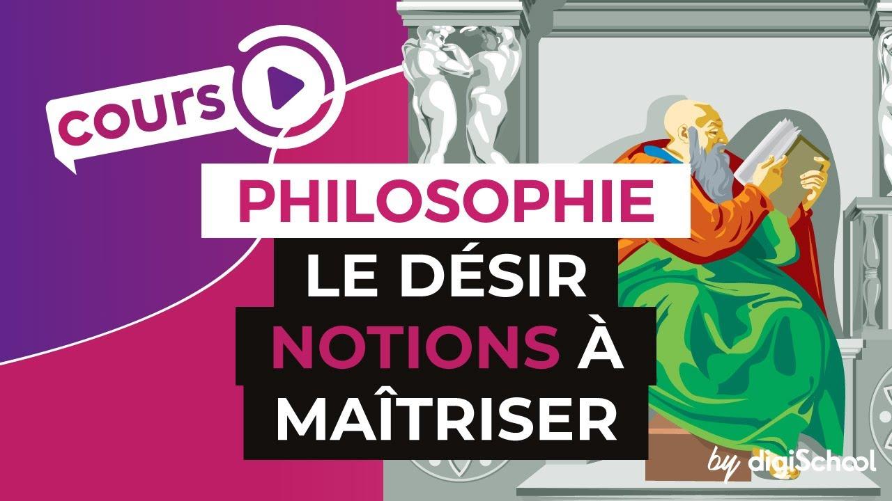 Desir philosophie dissertation