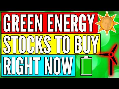 Buying 2 NEW Green Energy Stocks - Best Renewable Energy Stocks 2021