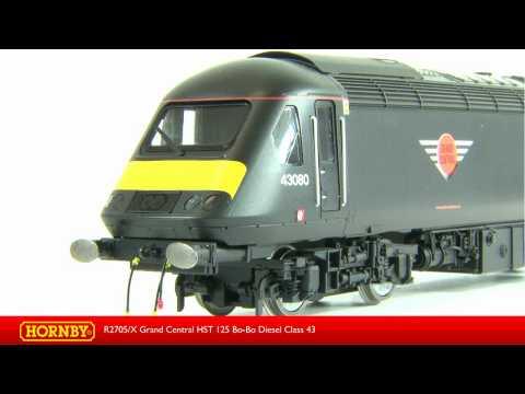 R2705/X Grand Central Trains Class 43 HST