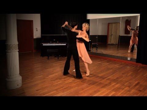 How to Do a Foxtrot Sway Step   Ballroom Dance