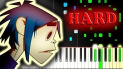 GORILLAZ - FEEL GOOD INC. - Piano Tutorial