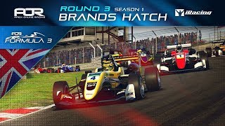 iRacing | AOR Formula 3 Championship | S1 | R3: Brands Hatch