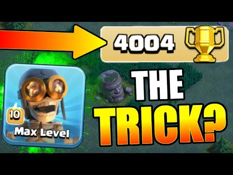 Thumbnail: HOW TO GET TO 4000 TROPHIES? BEST ATTACK STRATEGY'S FOR BH4 & BH5! - Clash Of Clans