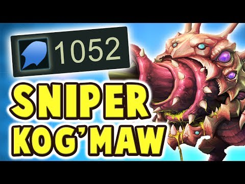 1000+ FULL AP SNIPER KOG'MAW JUNGLE   WHAT IS THIS DAMAGE ?? HERE COMES THE BARRAGE - Nightblue3