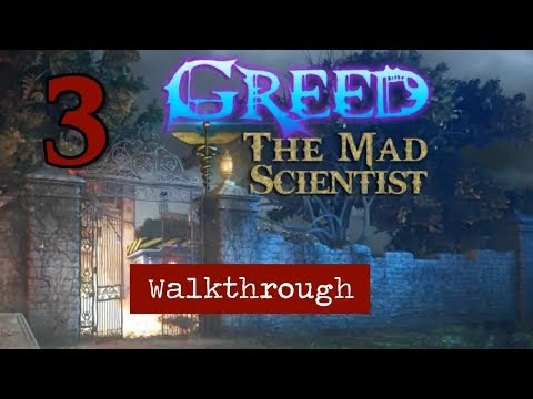 Greed: The Mad Scientist [03] walkthrough - Chapter 3: MYSTERY MAN DYNAMITE EXPLOSION