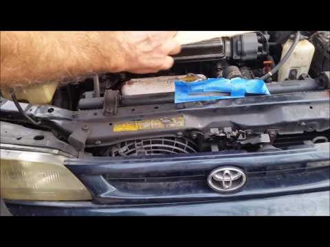 How To Fix a Crack In a Leaky Radiator - For Ever - Using Epoxy - D.I.Y