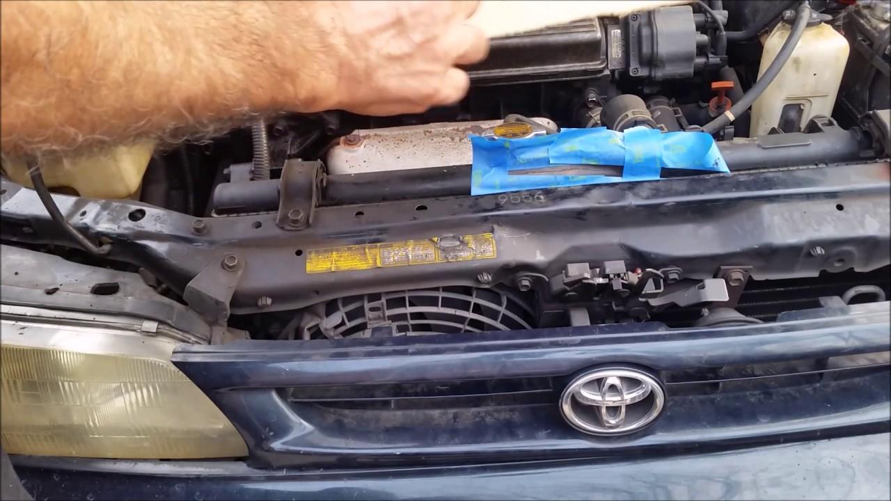 how to fix a broken radiator