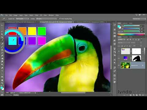 Photoshop Tutorial:  Converting From RGB To CMYK Via Multichannel | Lynda.com