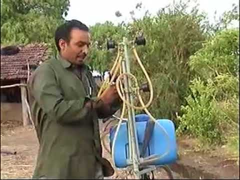 Bicycle Mounted Sprayer by Mansukhbhai Jagani