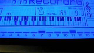 видео-урок мираж звёзды нас ждут (фрагмент). синтезатор