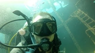 Dominican Diving: Astron Wreck, Punta Cana [HD]