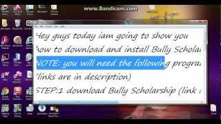 how to download and install BULLY SCHOLARSHIP EDITION(2013)