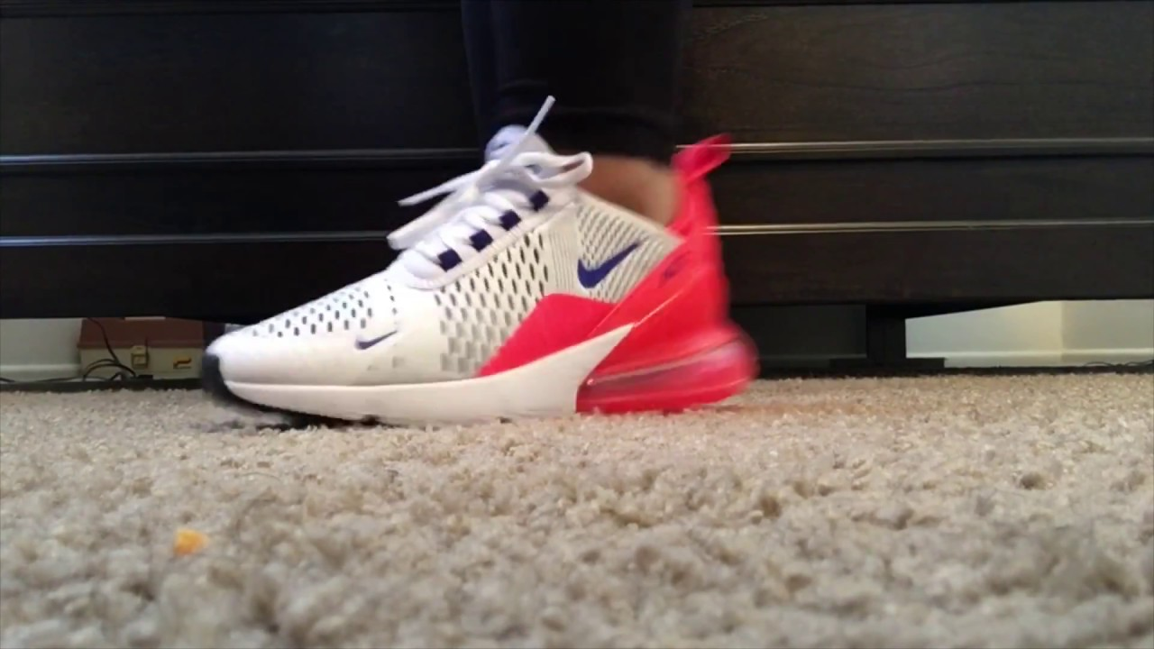 "Atomic Pink Nike Air Max 2018 ULTRAMARINE"" Air Max 270 Review & On Feet 