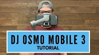DJI Osmo Mobile 3 - Tutorial - TIPS, TRICKS, and REVIEW 2019