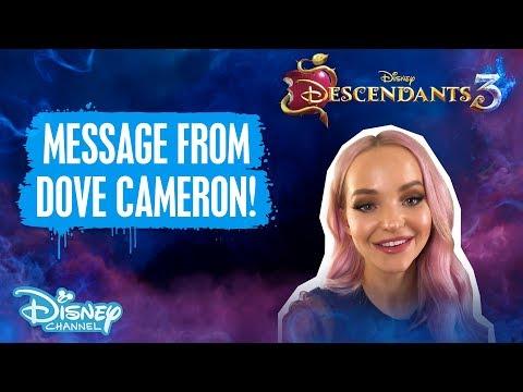 Descendants 3   A Special Announcement From Dove Cameron!