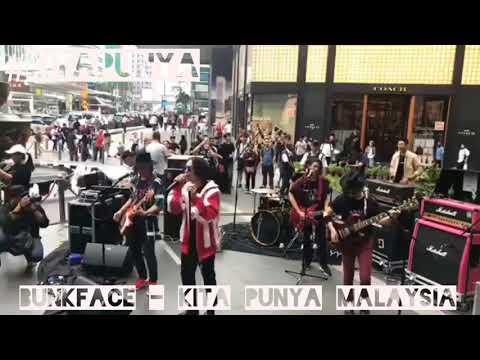Bunkface - kita punya (Malaysia) live