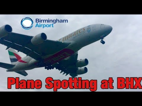 Summer Plane Spotting at Birmingham Airport | BHX | 29th July 2017