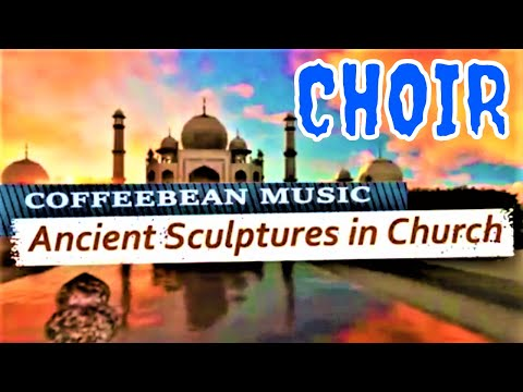 ANCIENT SCULPTURES IN CHURCH ♥ FREE PUBLIC DOMAIN MUSIC ♫  NO COPYRIGHT MUSIC