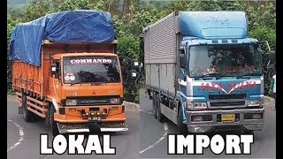 Truk Fuso Fighter Tronton Fuso The Great Built Up Truk Gandeng Nissan Diesel Ditanjakan Timez