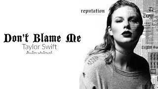 """Expand for all info:don't forget to bump the quality up 1080p!hey all! here is a tutorial on how play """"don't blame me"""" by taylor swift. enjoy!sheet mus..."""