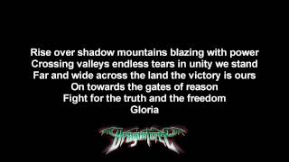 DragonForce - Revolution Deathsquad | Lyrics on screen | HD