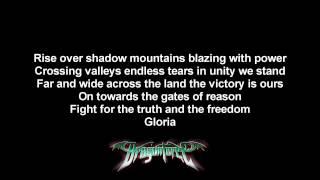 Gambar cover DragonForce - Revolution Deathsquad | Lyrics on screen | HD