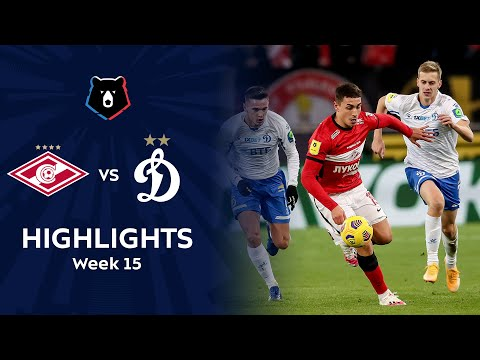 Spartak Moscow Dinamo Moscow Goals And Highlights