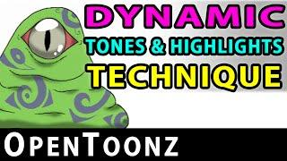 OpenToonz - Dynamic Tones & Highlights (Part 11)