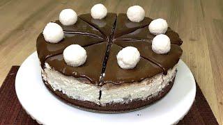 Kokostar Pasta/Çikolatalı Pratik Pasta/Hindistan Cevizli/ Muhteşem Tarif