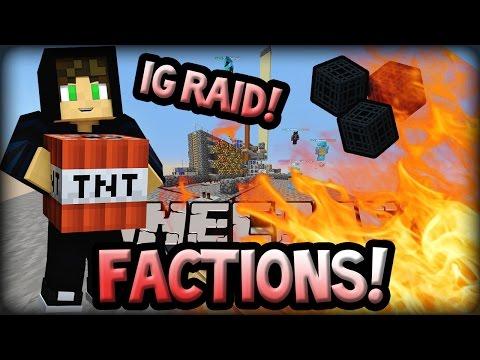 IRON GOLEM SPAWNER RAID!? | Minecraft Factions Competition! #9 (CosmicPvP)