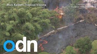 Hawaii volcano: 900°C lava destroys residential area