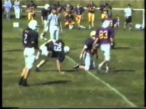 Qld Gridiron Football League Cougars v Stingrays 1997