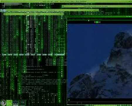 ubuntu beryl matrix 3d desktop