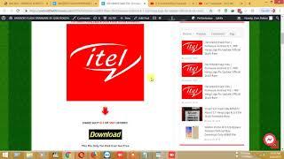 Itel 1508 Flash File