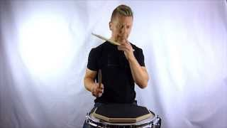 Drum Rudiment Series - Double Drag Tap - How To Play