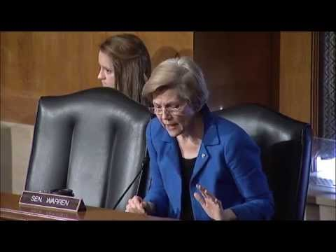 Senator Elizabeth Warren - Antibiotic Resistance and The FDA