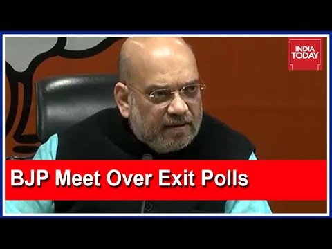 Amit Shah Meets Party General Secretaries After Exit Poll Predicts Setback For BJP