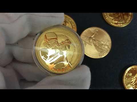 2018 1 oz Niue Star Wars Stormtrooper BU Gold Coin