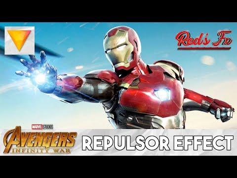Iron Man Repulsor Effect Hitfilm Express Tutorial | Red's Fx