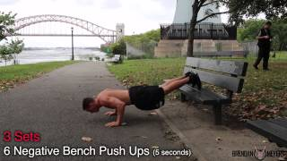 Chest Workout for BEGINNERS * [Bodyweight Only] *