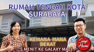 (SOLD) REVIEW & TOUR RUMAH DIJUAL TENGAH KOTA SURABAYA KEMANA-MANA DEKAT